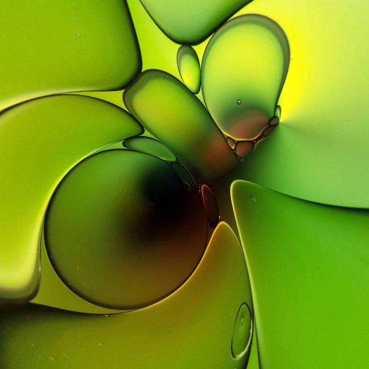 Green Evolution print