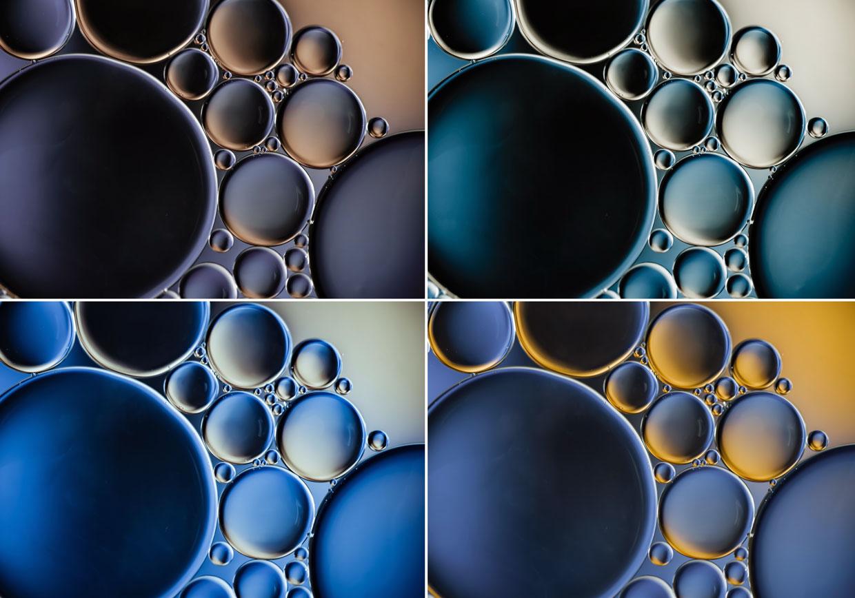 Vibrant Composite Bubbles